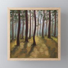 Forrest for the Trees Framed Mini Art Print