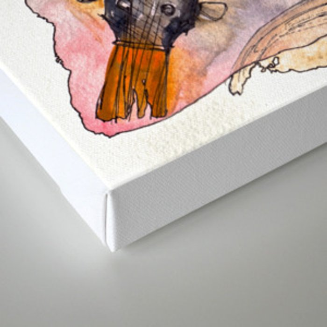Ebun from T-Rextasy  Canvas Print