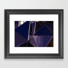 Abstract Glass Pattern Framed Art Print