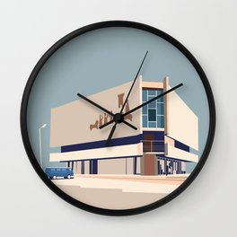 Soviet Modernism: Chess house in Yerevan Wall Clock