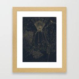 The Cloak of Blinding Levitation Framed Art Print