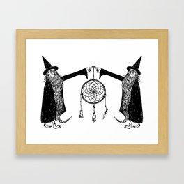 Dream Wizards Framed Art Print