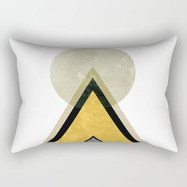 Mid Century Mountain I Rectangular Pillow