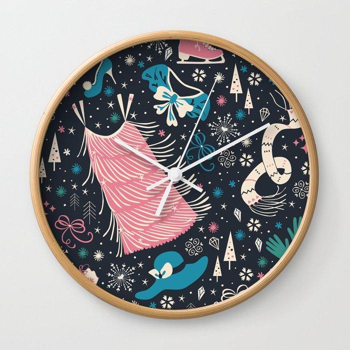 Frou Frou Wall Clock