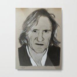 Gerard Depardieu Metal Print
