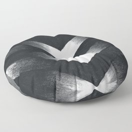 Charcoal Point Floor Pillow