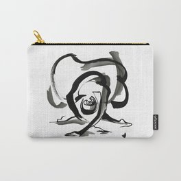Expressive Ballerina Dance Drawing Carry-All Pouch