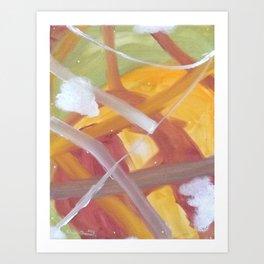 Autumn Storm Art Print