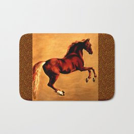 The Horse, after  George Stubbs Bath Mat