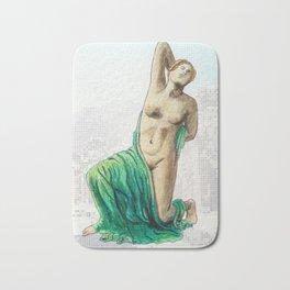 Dying Daughter of Niobe in Pompeii Bath Mat