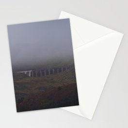Fog Over The Stwlan Dam Stationery Cards