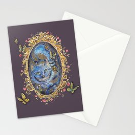 Cheshire cat ALICE IN WONDERLAND Stationery Cards