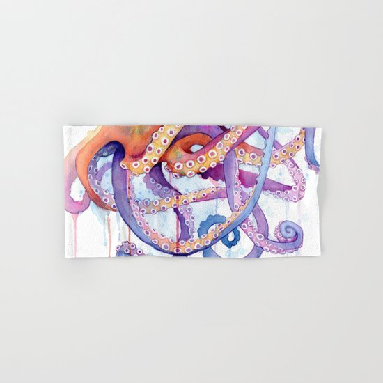Octopus II Hand & Bath Towel