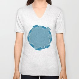 Abstract pattern Unisex V-Neck