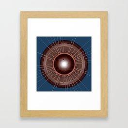 Digital Records Framed Art Print