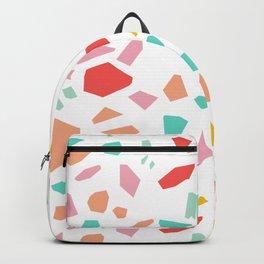 Modern Terrazzo Vector Pattern Backpack