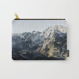 Mountain panorama lake königssee bavaria  Carry-All Pouch