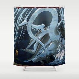 Bloodborne Despair of Ebrietas Shower Curtain