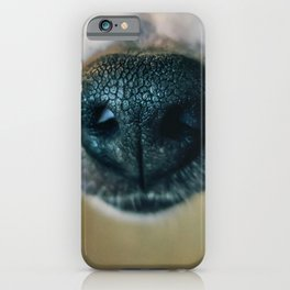 Dog face 2 iPhone Case
