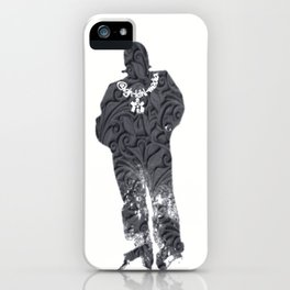 Igh Kihl Media Standing Man Garden Design Logo iPhone Case