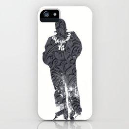 Igh Kihl Media Standing Man Garden Design Logo iPhone Case