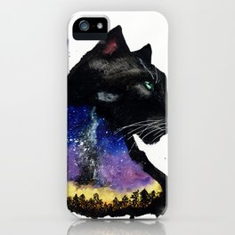 Galaxy Panther iPhone Case