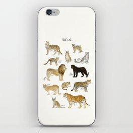 Wild Cats iPhone Skin