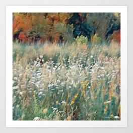 The Autumn of Indiana Art Print