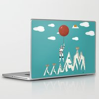 trooper Laptop & iPad Skins featuring cloud trooper by bri.buckley