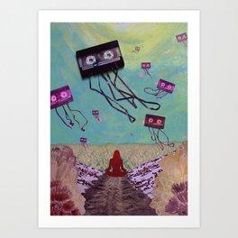 Synesthesia Art Print