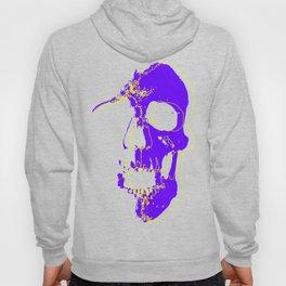 Skull - Purple Hoody