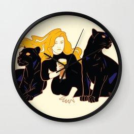 Panther Brews Wall Clock