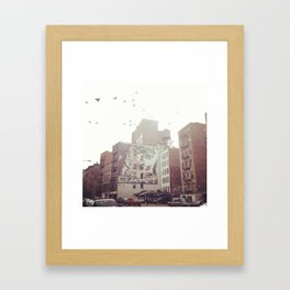 Birds Over Soho Framed Art Print