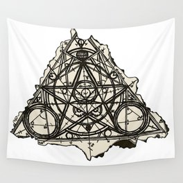 Imperfect Symmetry Wall Tapestry