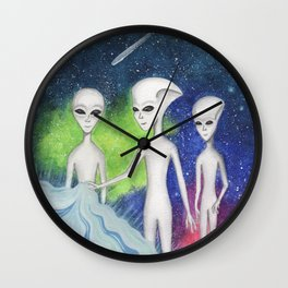 Planet Cure Wall Clock