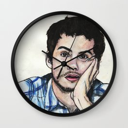Bored DOB Wall Clock