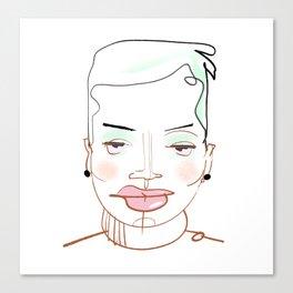 Soi Canvas Print