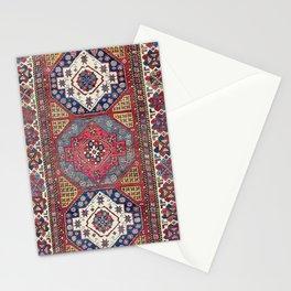 Shahsavan Azerbaijan Antique Tribal Persian Rug Print Stationery Cards