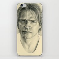 sam winchester iPhone & iPod Skins featuring Sam Winchester by Jacob Tyler