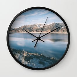 Echo Reservoir Wall Clock