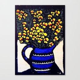 """Dilwynia"" by Australian Artist Margaret Preston Canvas Print"