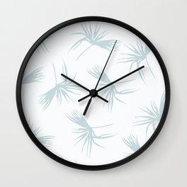 Light leaf pattern Wall Clock
