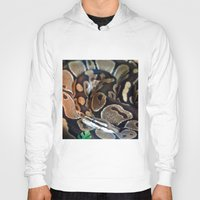 monty python Hoodies featuring Python by GardenGnomePhotography