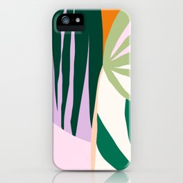 Tropical Collage  iPhone Case
