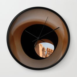 Gaudi Series - Casa Milà No. 2 Wall Clock