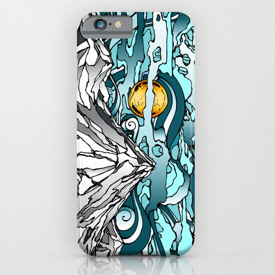 Turquoise Sky iPhone & iPod Case