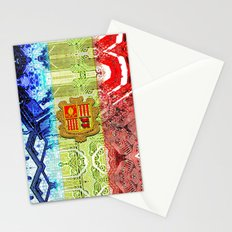 circuit board Andorra (flag) Stationery Cards