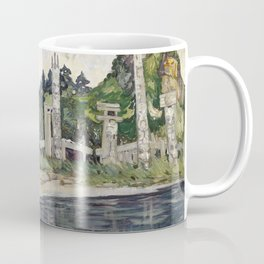 Emily Carr - Skedans  - Canada, Canadian Oil Painting - Group of Seven Coffee Mug