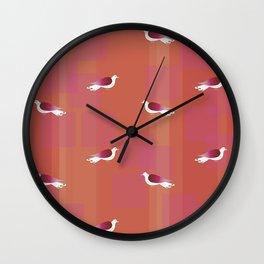 Birds. Wall Clock