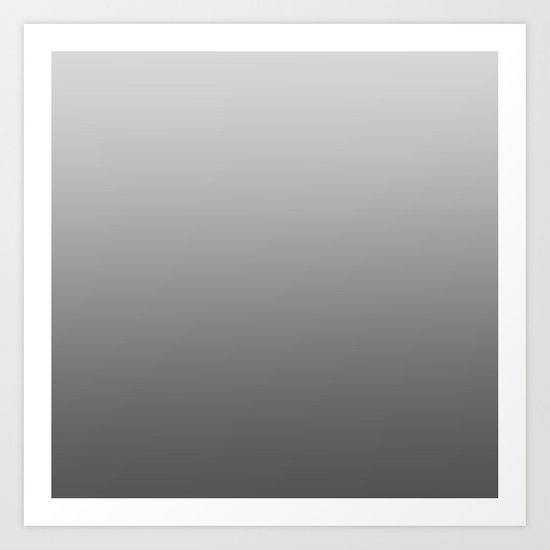 Grey Ombre by palitraart